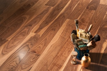 Инженерная Доска Coswick 1308-3101 Американский орех natural traditinal 127 лак
