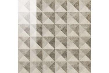 Керамическая плитка Italon Elite Грей Вставка Иллюжн