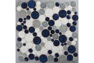 Керамическая плитка Colorker Edda Msc.sphere Blue/White