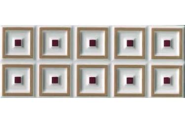 Керамическая плитка Cerasarda Parentesi/Quadra Fascia Cornice Bamboo 8X20