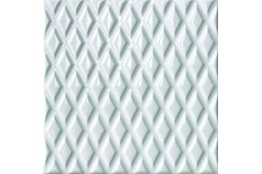 Керамическая плитка Cerasarda Parentesi/Quadra Parentesi A Bianco Puro 20X20