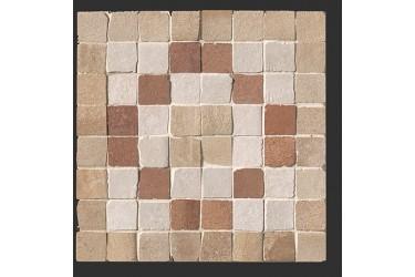 Керамическая плитка Fap Ceramiche Firenze Heritage Deco Terra Angolo Fascia Mosaico