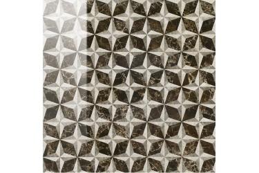 Керамическая плитка Italon Elite Дарк Вставка Виндроуз Люкс