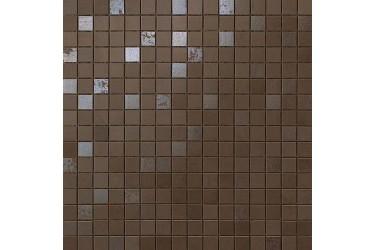 Керамическая плитка Atlas Concorde Dwell Brown Leather Mosaico Q