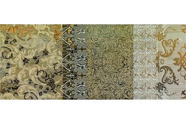 Керамическая плитка Impronta Shine Batik Oro Dec.b