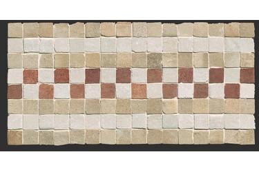 Керамическая плитка Fap Ceramiche Firenze Heritage Deco Terra Fascia Mosaico