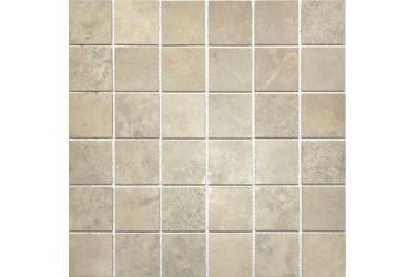 Керамическая плитка Casa Dolce Casa Velvet Mosaico Ecru 5X5 30X30