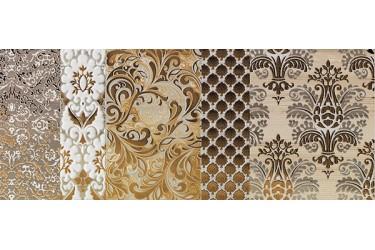 Керамическая плитка Impronta Shine Batik Oro Dec.c