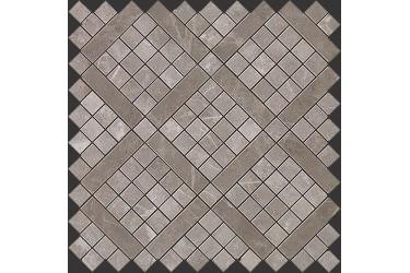 Керамическая плитка Atlas Concorde Marvel Pro Grey Fleury Diagonal Mosaic