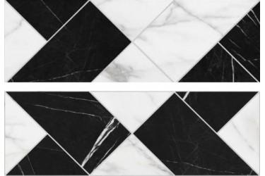 Керамическая плитка Argenta Delta Tangram White