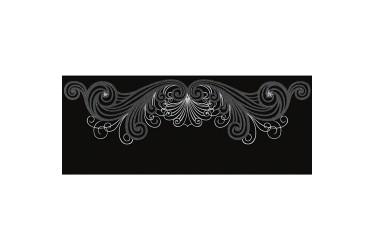 Керамическая плитка Emil Ceramica Bon Ton Fascia Fashion Skull Black