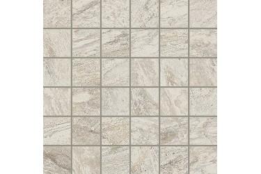 Керамическая плитка Italon Alpi Белый Вставка Моз