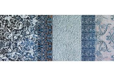 Керамическая плитка Impronta Shine Batik Turchese Dec.b