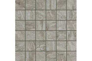 Керамическая плитка Italon Alpi Серый Вставка Моз