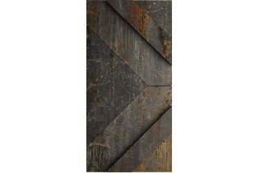 Керамическая плитка Apavisa CAST IRON Black Nat Decor Ramp