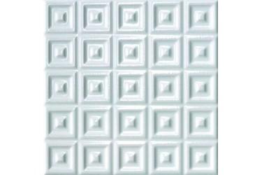 Керамическая плитка Cerasarda Parentesi/Quadra Quadra A Bianco Puro 20X20