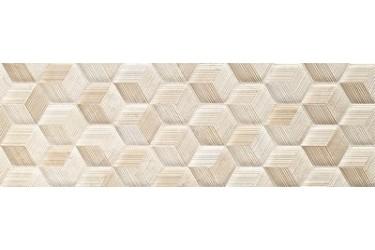 Керамическая плитка Impronta Beige Experience Wall Cube Crema Velluto