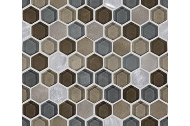 Керамическая плитка L Antic Colonial Mosaics Collection Fusion Hexagon Caramel Mix