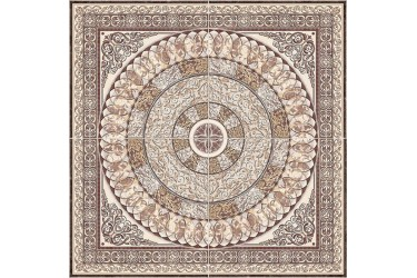 Керамогранит Absolut Keramika Marble Roseton 4