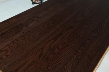 Паркетная Доска Parquet Prime Дуб r-40 люкс 1-полосная (тонирован, коричневого цвета)