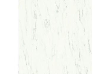 Виниловый Ламинат Quick Step AMCL 40136 Мрамор каррарский белый